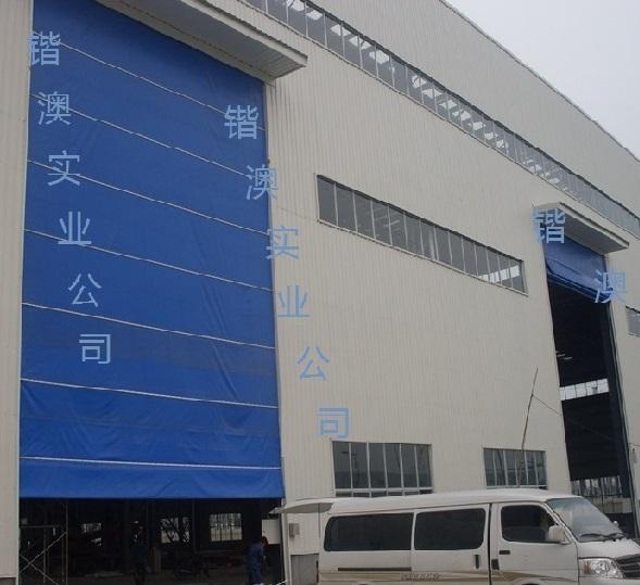 工业重叠门,工业透视门,欧式卷帘门,电动折叠大门, 玻璃幕墙平移门